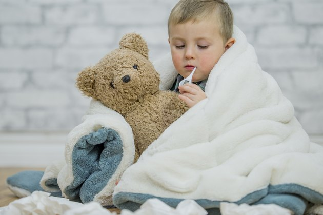 Sick Little Boy