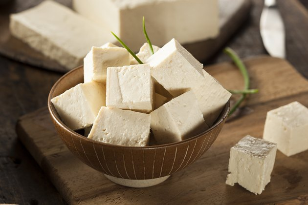 Organic Raw Soy Tofu meat substitutes