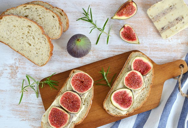 Sandwiches with Figs Cheese Fresh Fig