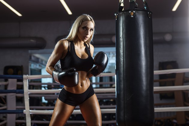 The Difference Between a Heavy Punching Bag & an MMA Bag