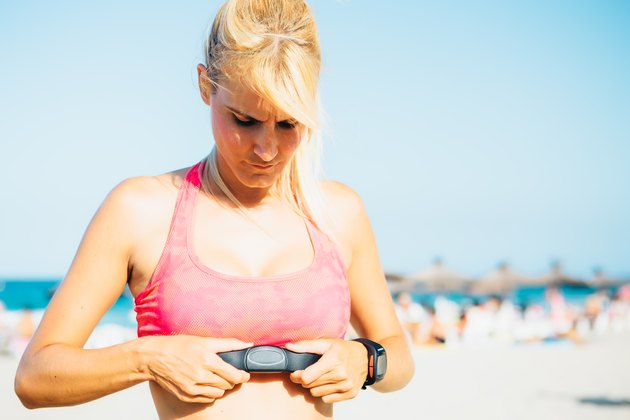 How to Wear a Cardio Strap for Women