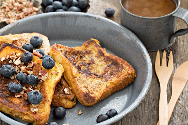 French Toast And Coffee