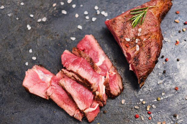 culinary recipe cowboy steak sliced grilled beef