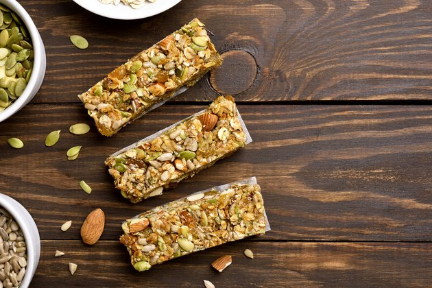 Granola bar healthy snack