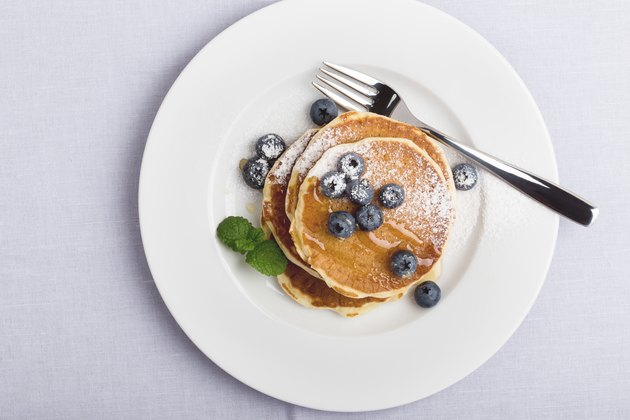 Occasions. Blueberry pancakes