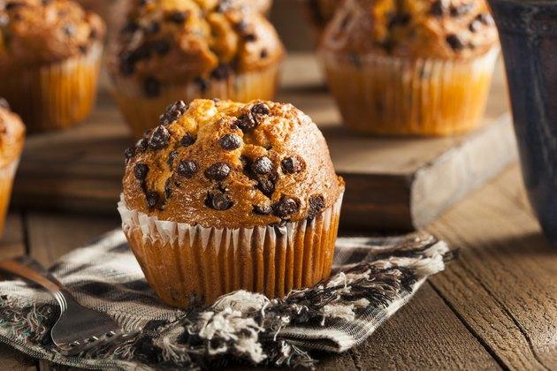 Homemade Chocolate-Chip Muffins