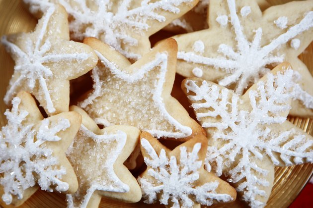 Christmas cookies with egg substitute for eggless sugar cookies