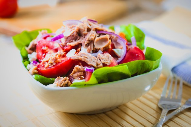 Fresh and colorful tuna salad weight loss recipes