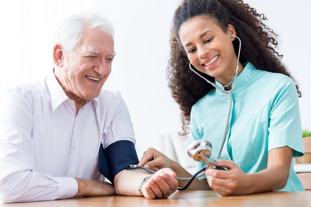 Causes of Low Blood Pressure Elderly