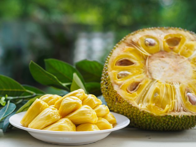 Fresh Jack fruit meat substitutes