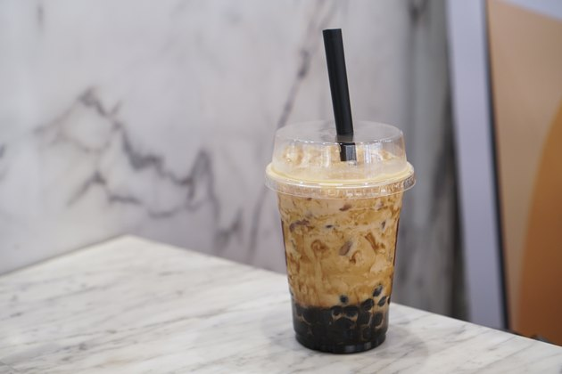 Brown Sugar Bubble Milk Tea.
