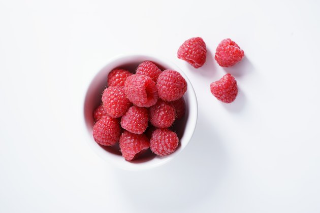 raspberries. fresh berries