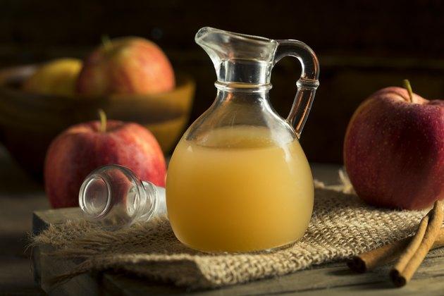 Raw Organic Apple Cider Vinegar ph