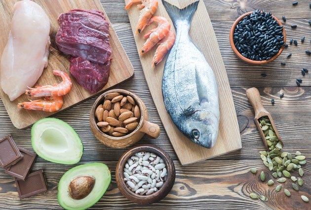 Food sources of zinc