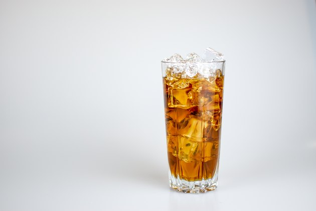 a cold Coke for drinking