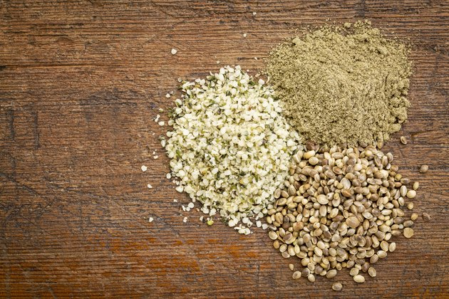 hemp seed and protein powder