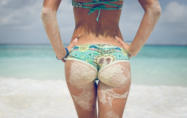 What Exercise Tightens Loose Buttocks After Weight Loss?