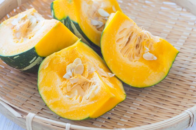 Kabocha, is Japanese pumpkin