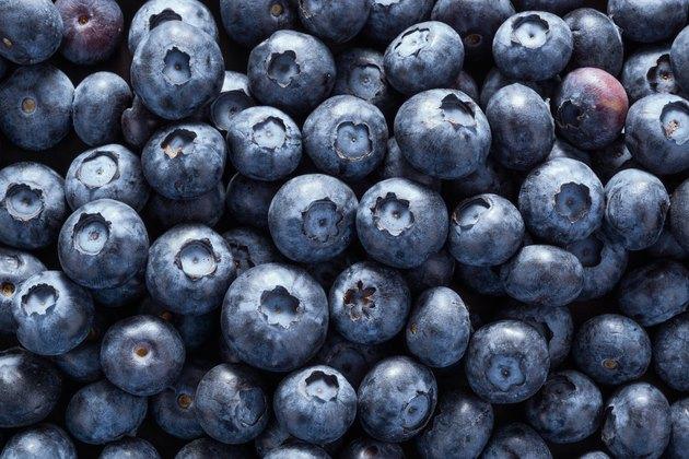Fullframe Shot Of Blueberry