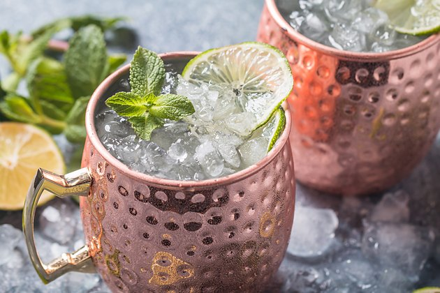 Moscow mule cocktail dry january mocktails