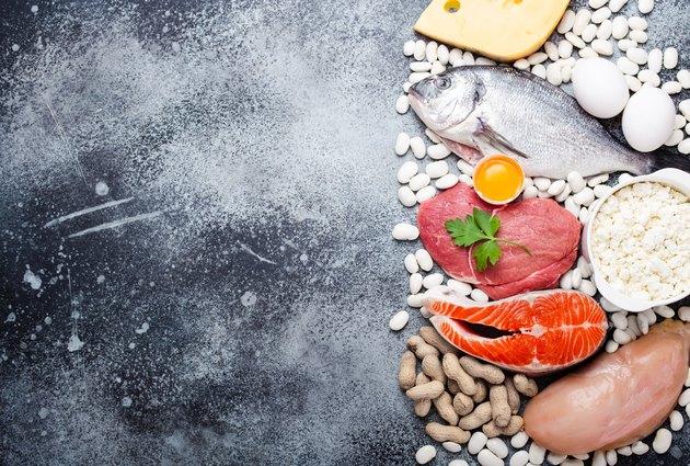 Keto diet low carb foods