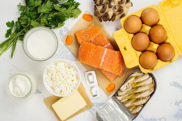 Natural sources of vitamin d and calcium