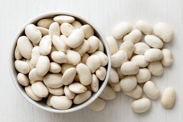 Dry butter beans