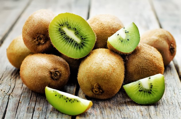 kiwi on table