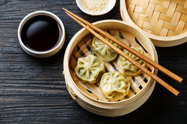 Steamed dumplings Dim Sum