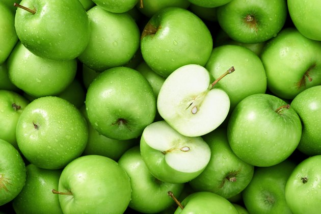 Granny smith apple background