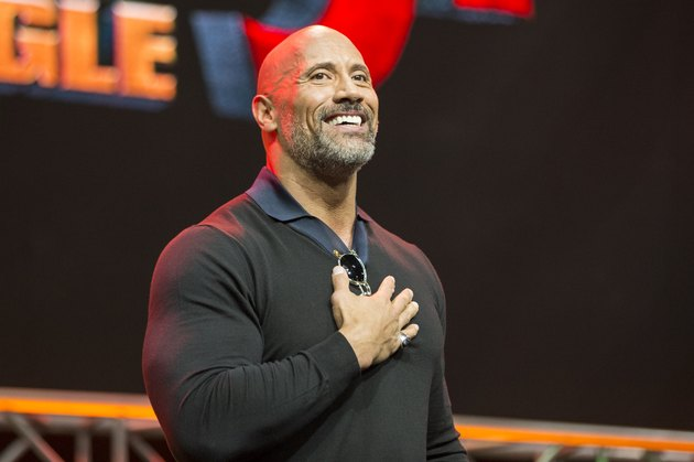 "ENTERTAINMENT WEEKLY Presents Dwayne ""The Rock"" Johnson at Stan Lee's Los Angeles Comic-Con on Saturday, October 28, 2017"