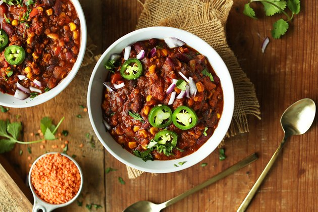 One-Pot Red Lentil Chili
