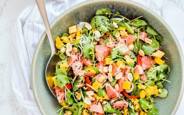 Spicy Thai Grapefruit Salad