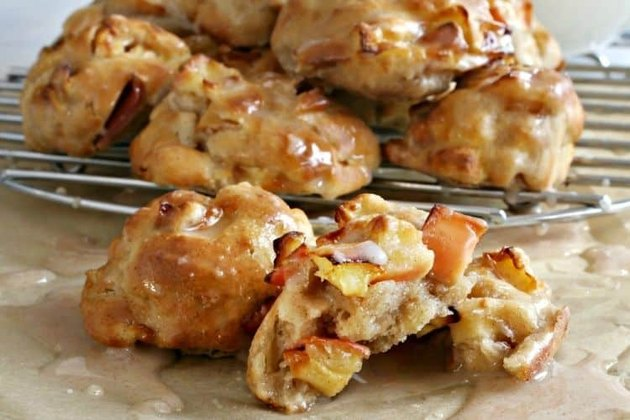 Air Fryer Apple Fritters low carb air fryer recipes
