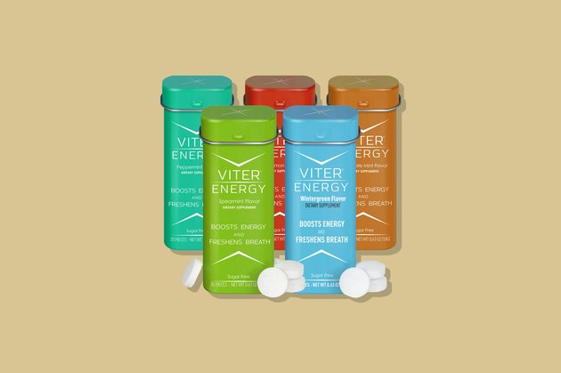 Viter Energy Wintergreen Caffeinated Mints