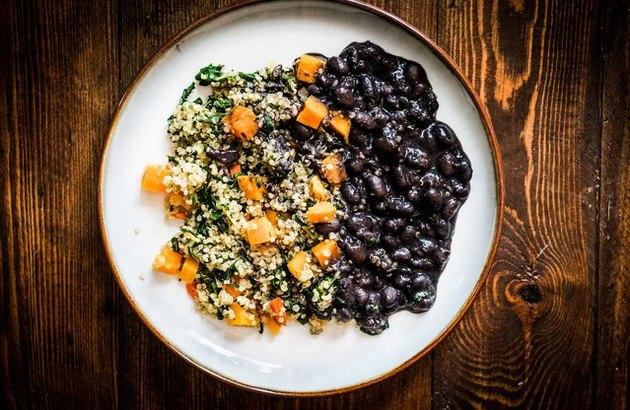 Chipotle Black Bean and Quinoa Stew recipe