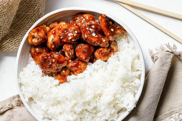 Air Fryer General Tso's Chicken