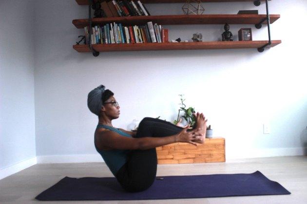 Move 7: Boat Pose (Paripurna Navasana)