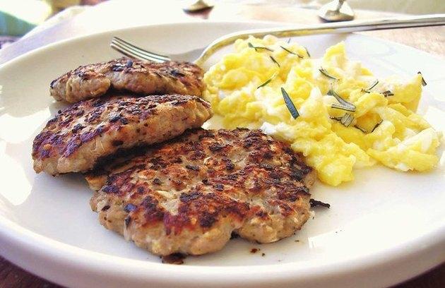 Organic Chicken Breakfast Patties