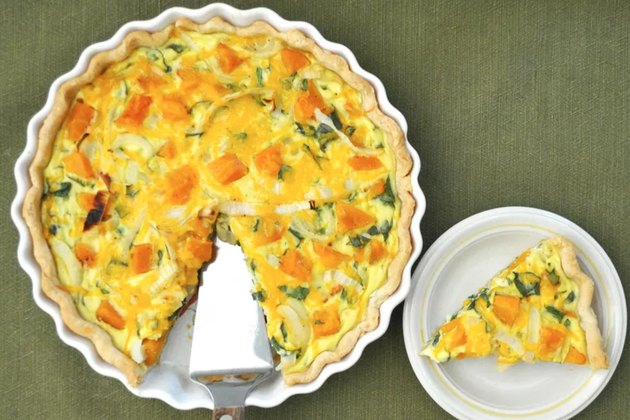 Fall Quiche With Roasted Butternut Squash Recipe
