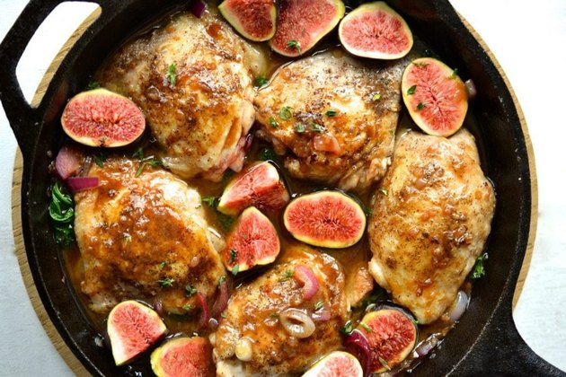 Balsamic Chicken and Figs