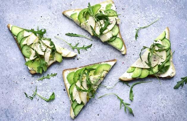 Add avocado to your toast for more fiber.