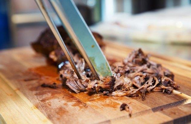 Poulet barbecue effiloché sain