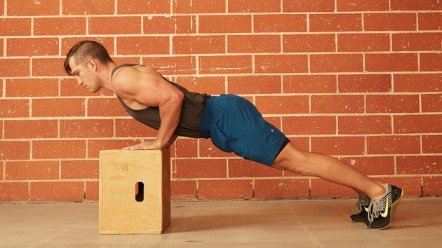 2. Incline Push-Up