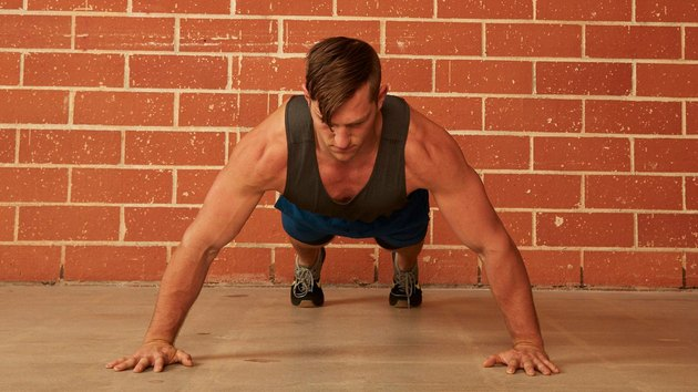 5. Wide-Arm Push-Up