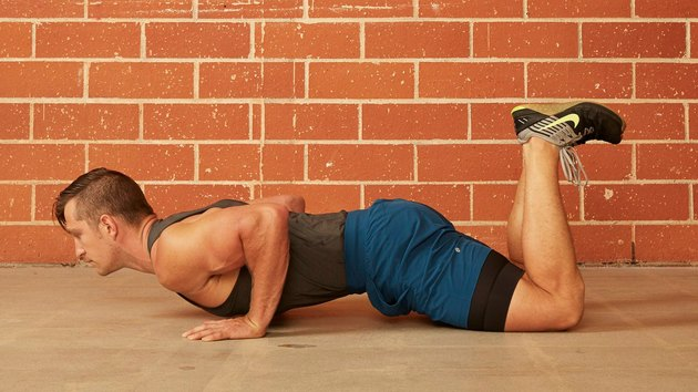 3. Modified (Knee) Push-Up