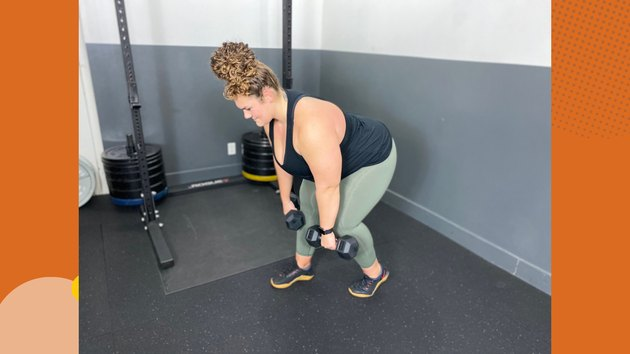 4. Staggered-Stance Deadlift