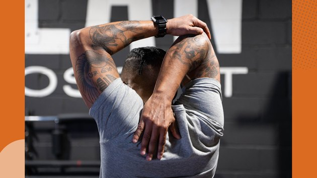 Move 5: Triceps Stretch