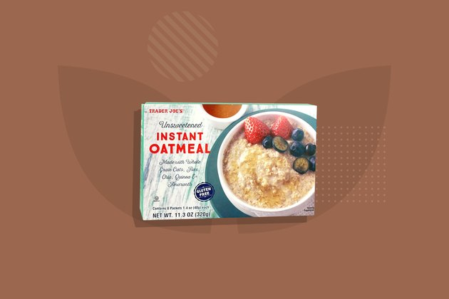 Trader Joe's Instant Oatmeal