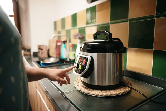 Cooking with an instant pot